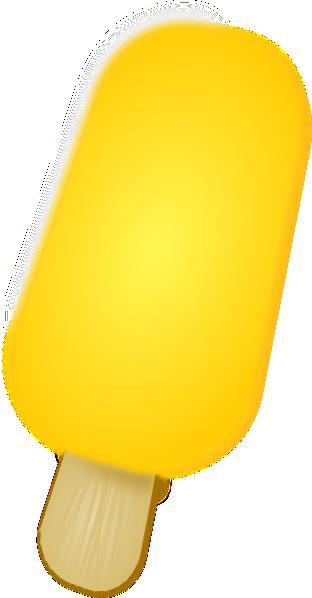 Yellow Ice Cream SVG Clip arts