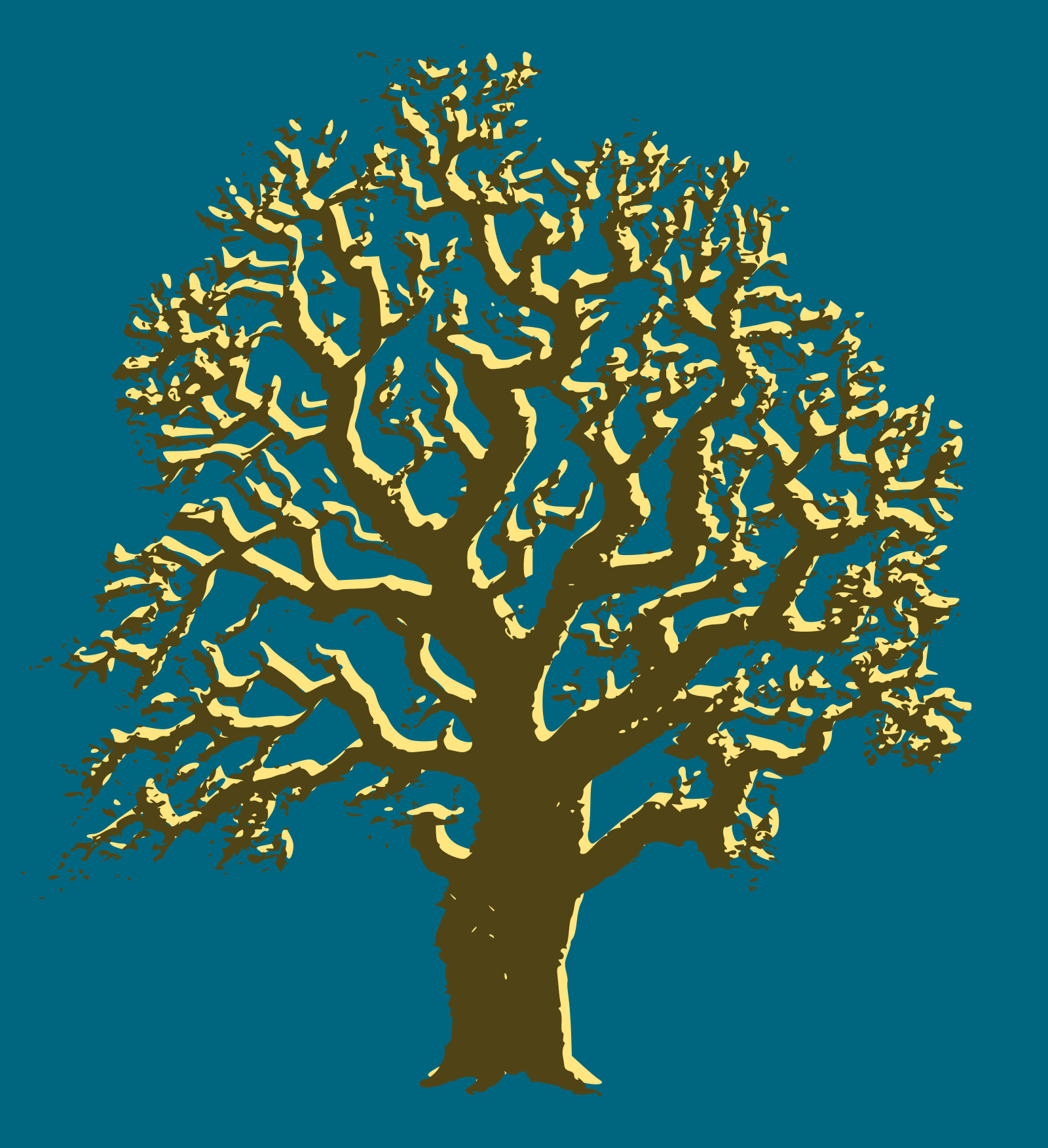 Brown Tree SVG Clip arts