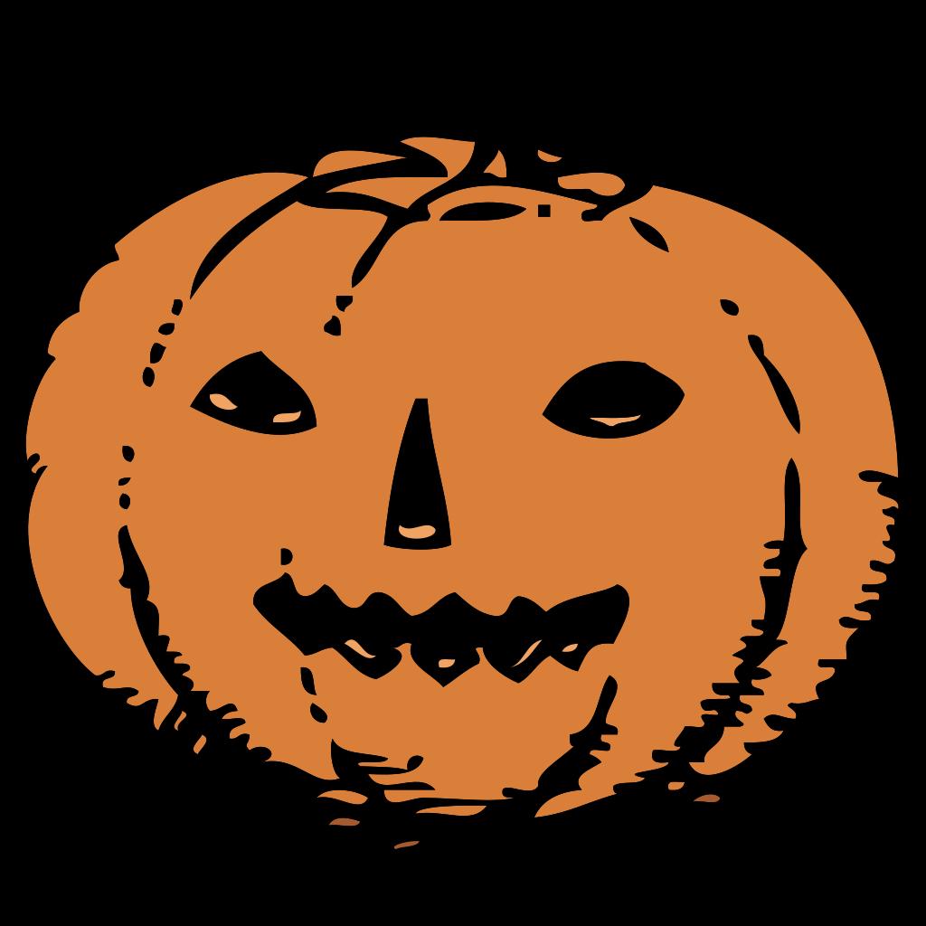 Red Pumpkin SVG Clip arts