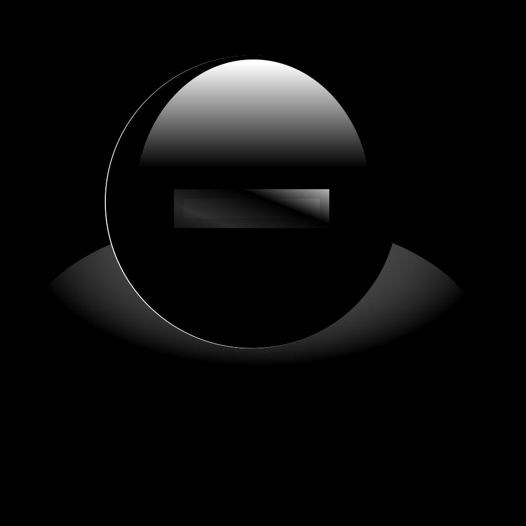 Minus Shade Icon SVG Clip arts