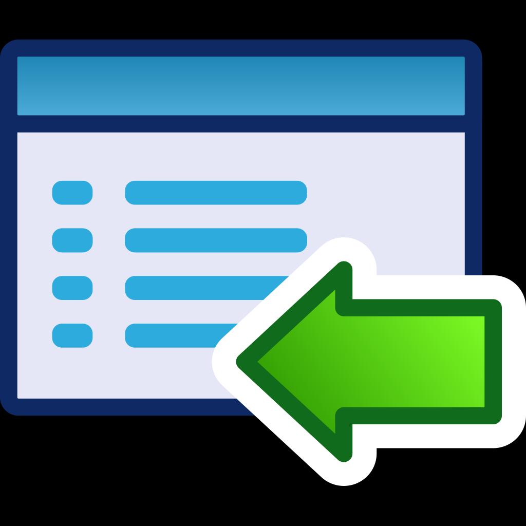 Green Menu Icon Set Left SVG Clip arts