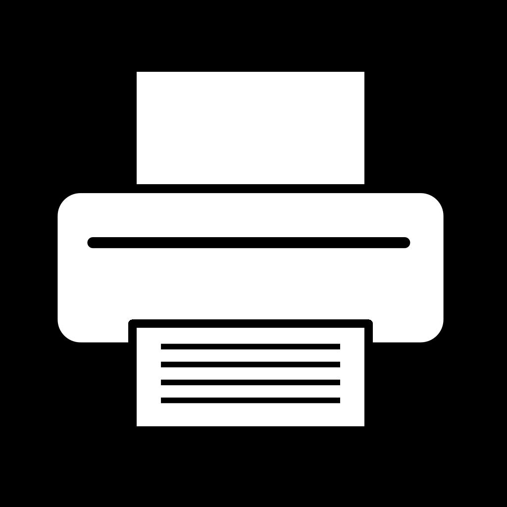 Printer SVG Clip arts