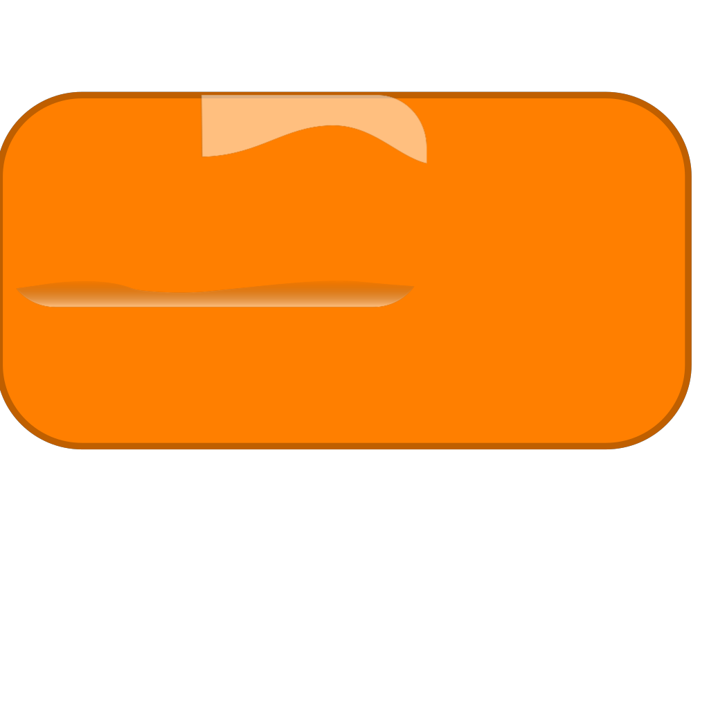 Orange Button SVG Clip arts