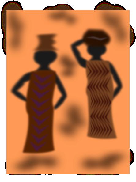 Women Black Clothing SVG Clip arts
