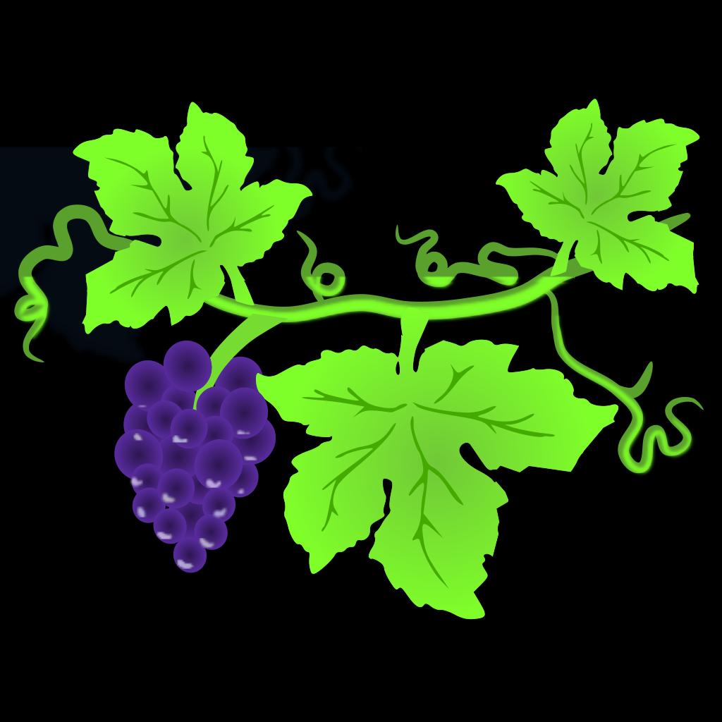 Grape Vine SVG Clip arts
