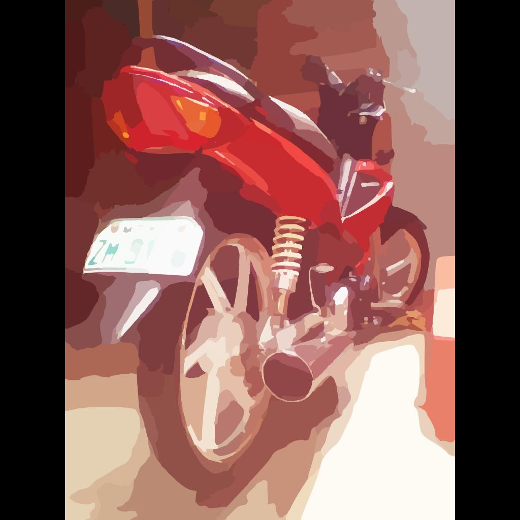 Red Art Image SVG Clip arts