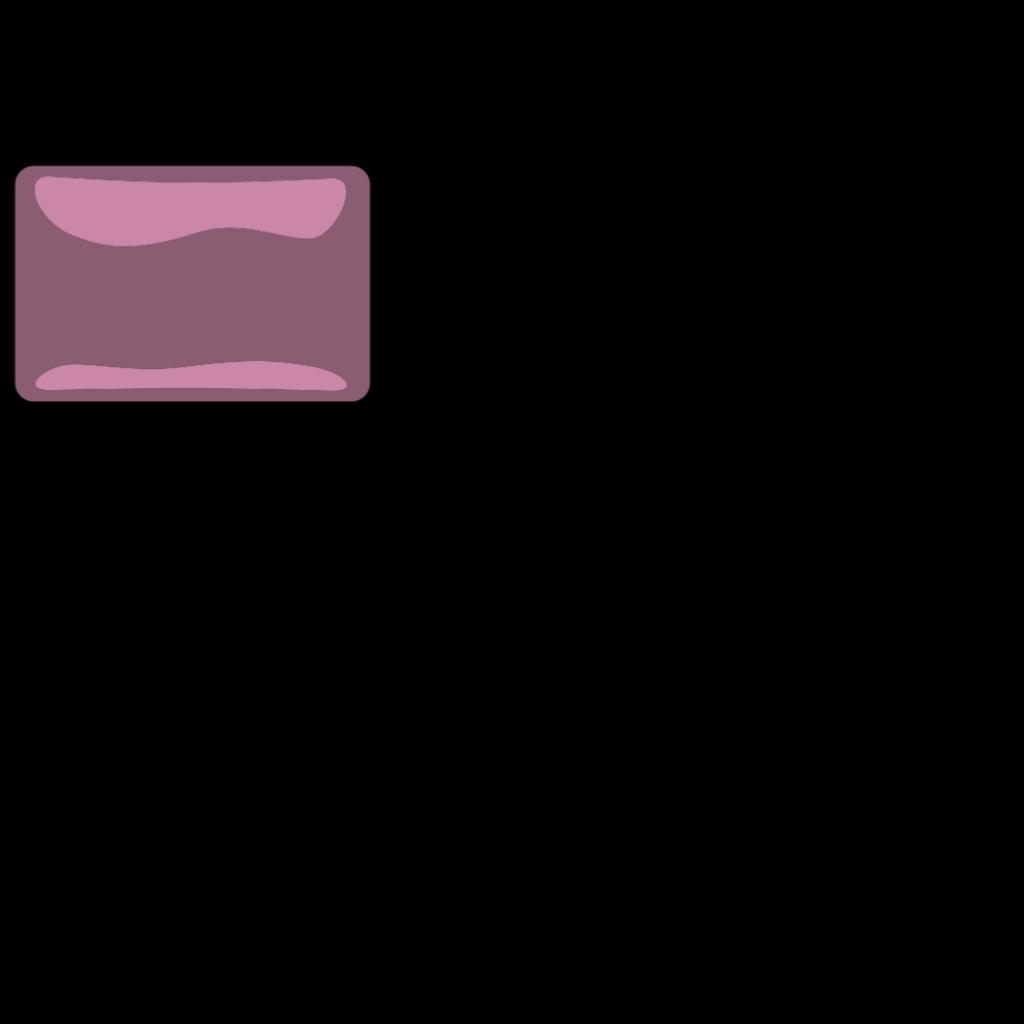 Soft Pink Glassy Botton SVG Clip arts