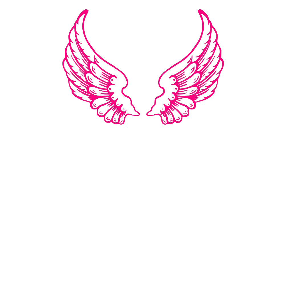Pink Chubby Bird SVG Clip arts