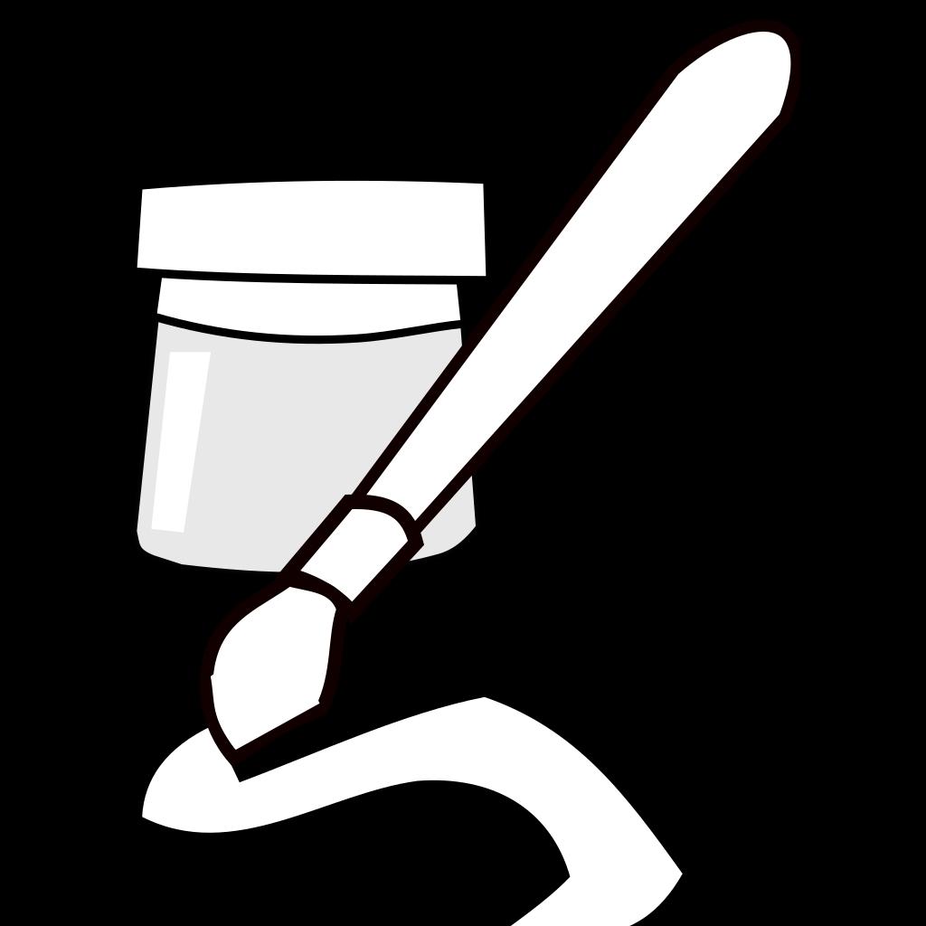 Paintbrush SVG Clip arts