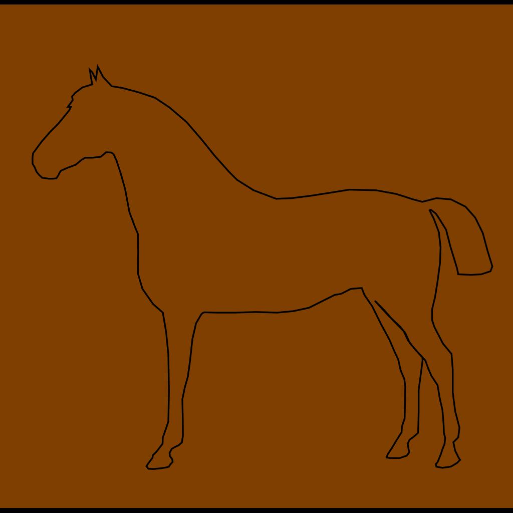 Horse Art SVG Clip arts