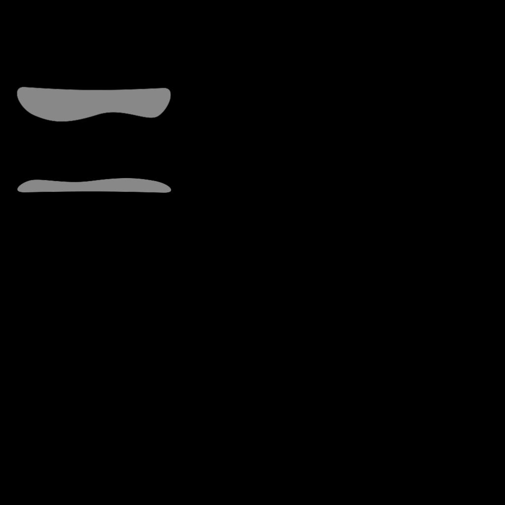 Black Buttion Rect SVG Clip arts