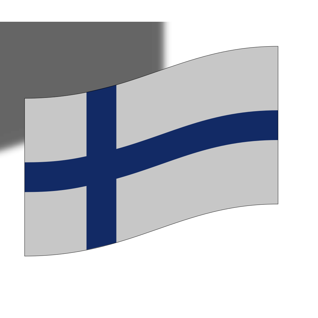 Finland Flag SVG Clip arts