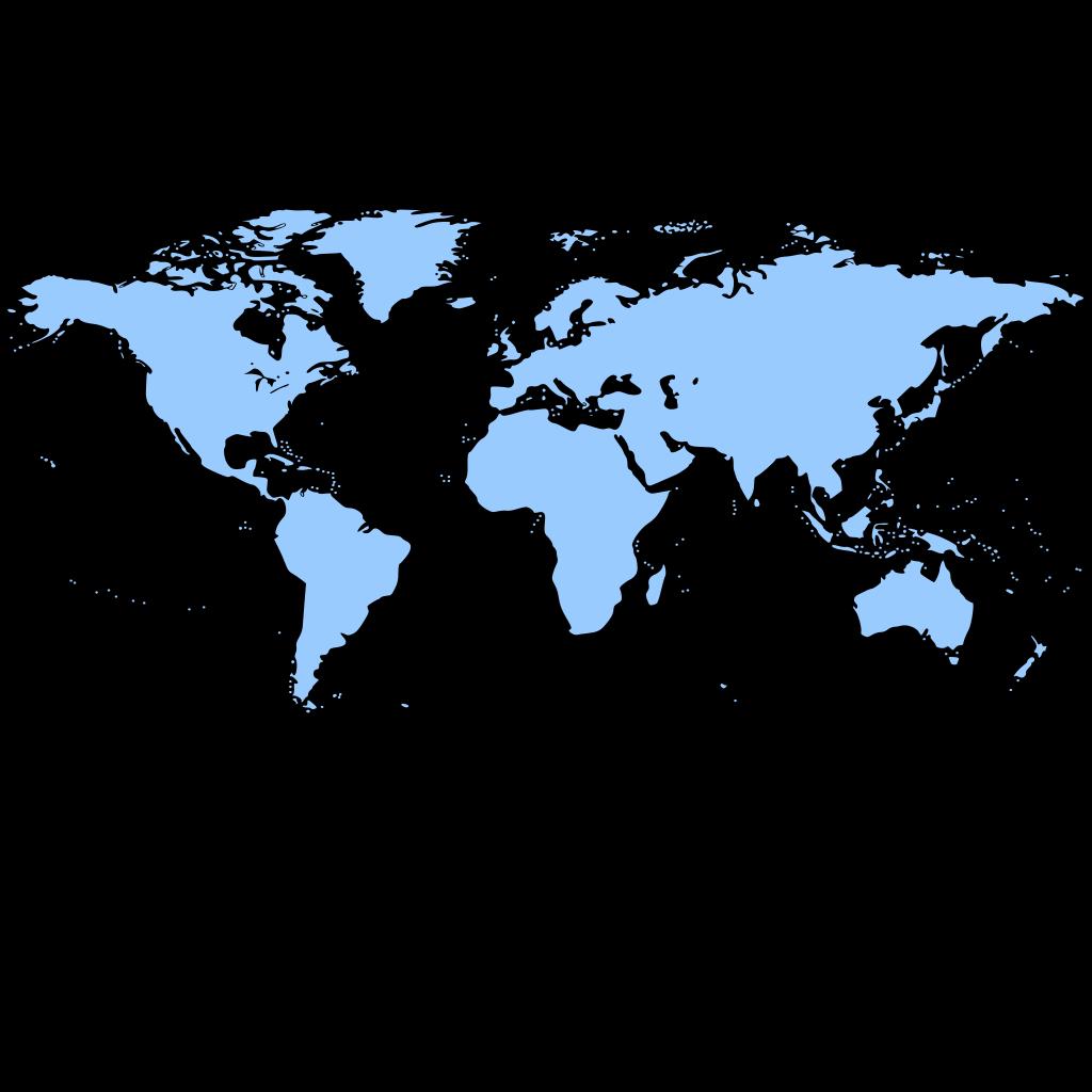 World label Border SVG Clip arts