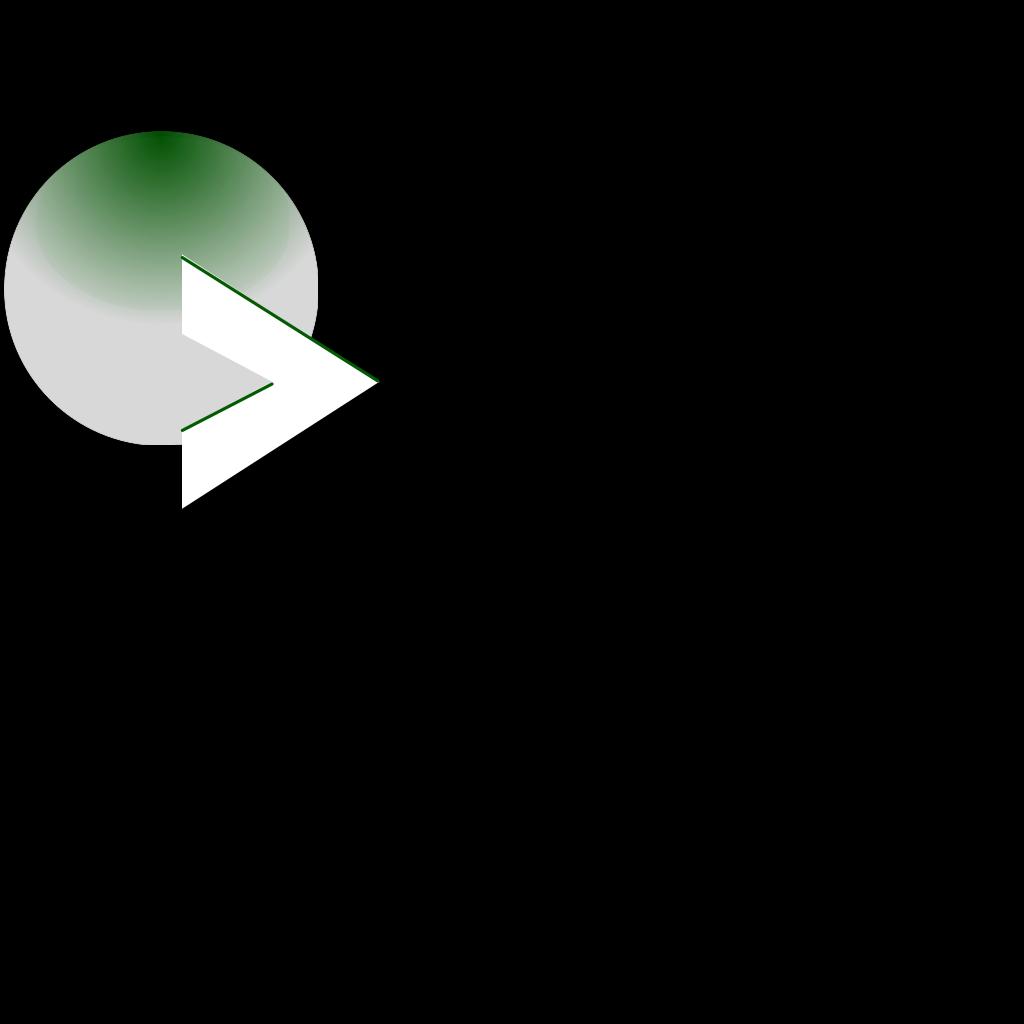 Play Green Button Arrow SVG Clip arts