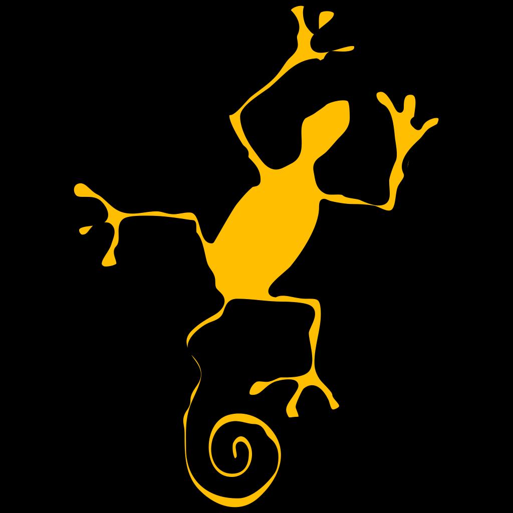 Monitor Lizard SVG Clip arts