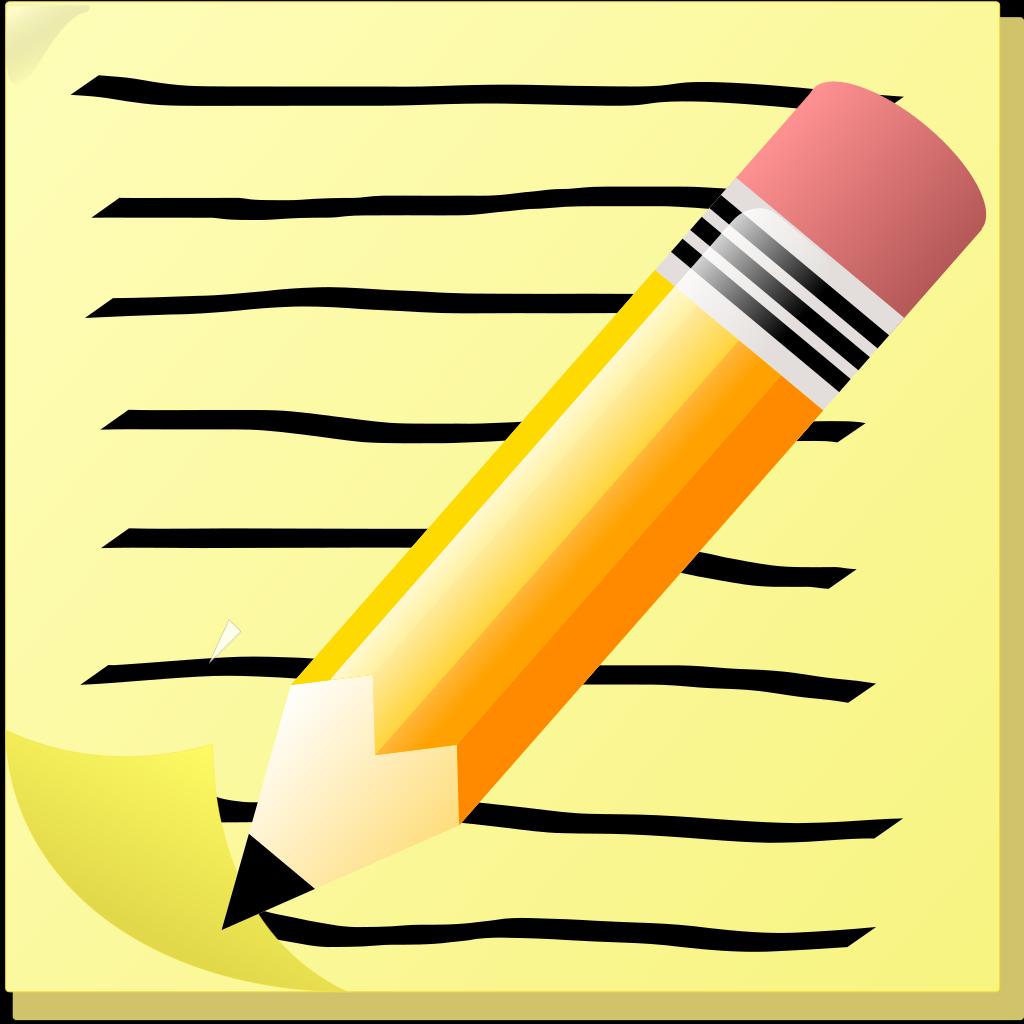 Notepad Icon SVG Clip arts