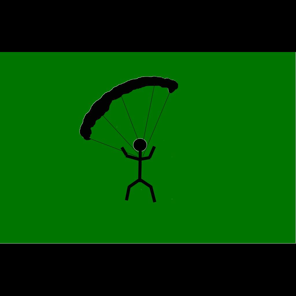 Parachute Icon SVG Clip arts