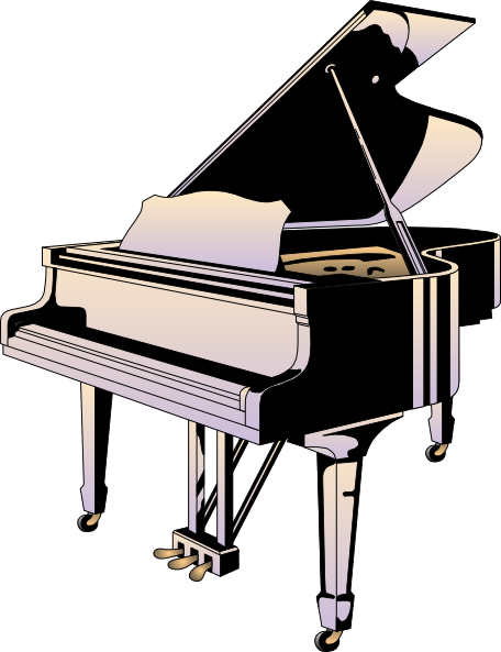 Piano Icon SVG Clip arts
