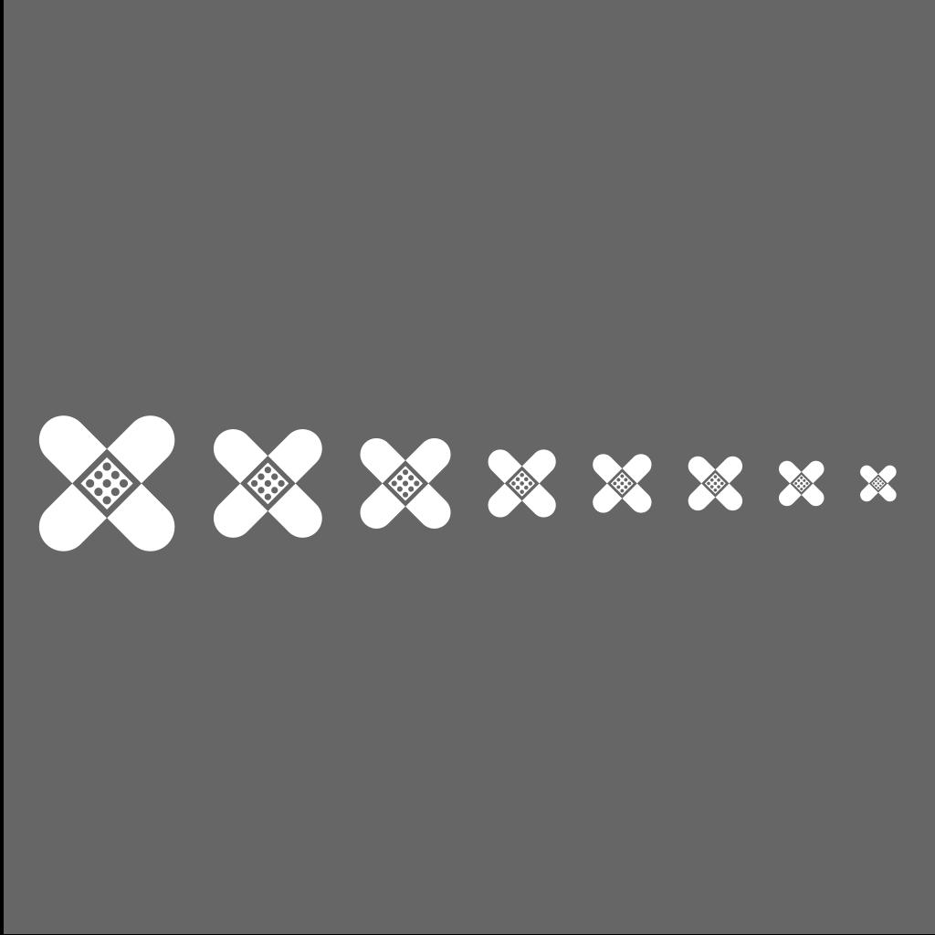 Plaster Icon SVG Clip arts