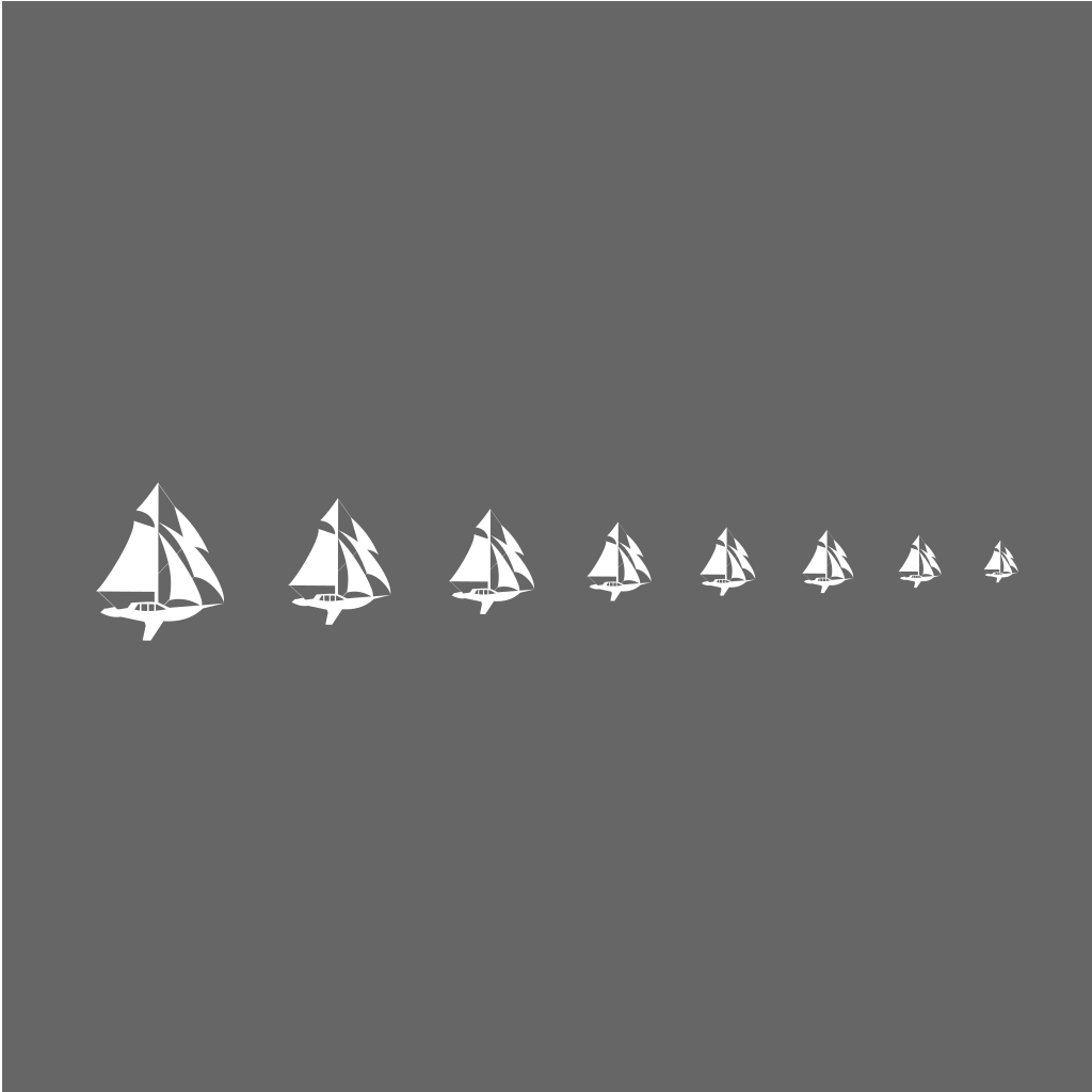 Sail Icon SVG Clip arts