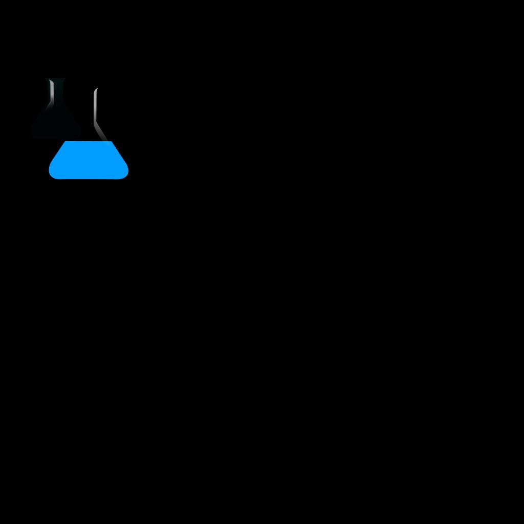 Blueflask SVG Clip arts