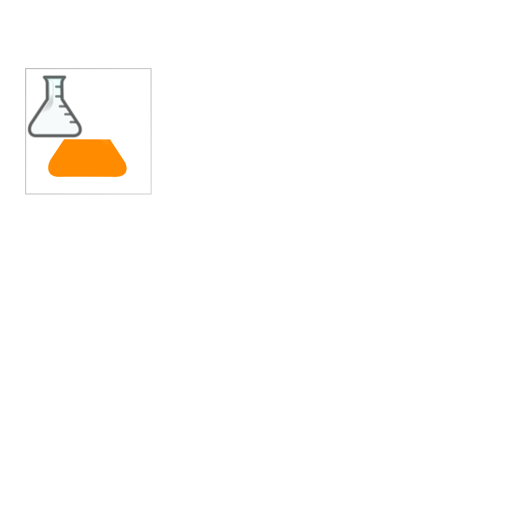 Orangeflask-boxed SVG Clip arts