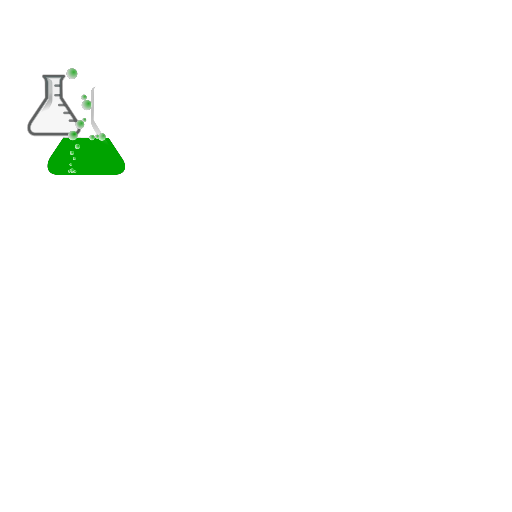 Greenflask/bubbles/invisibox SVG Clip arts