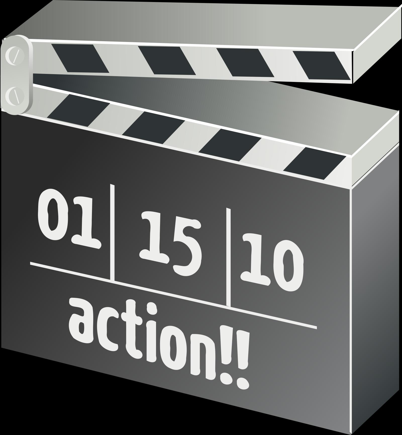 Action SVG Clip arts