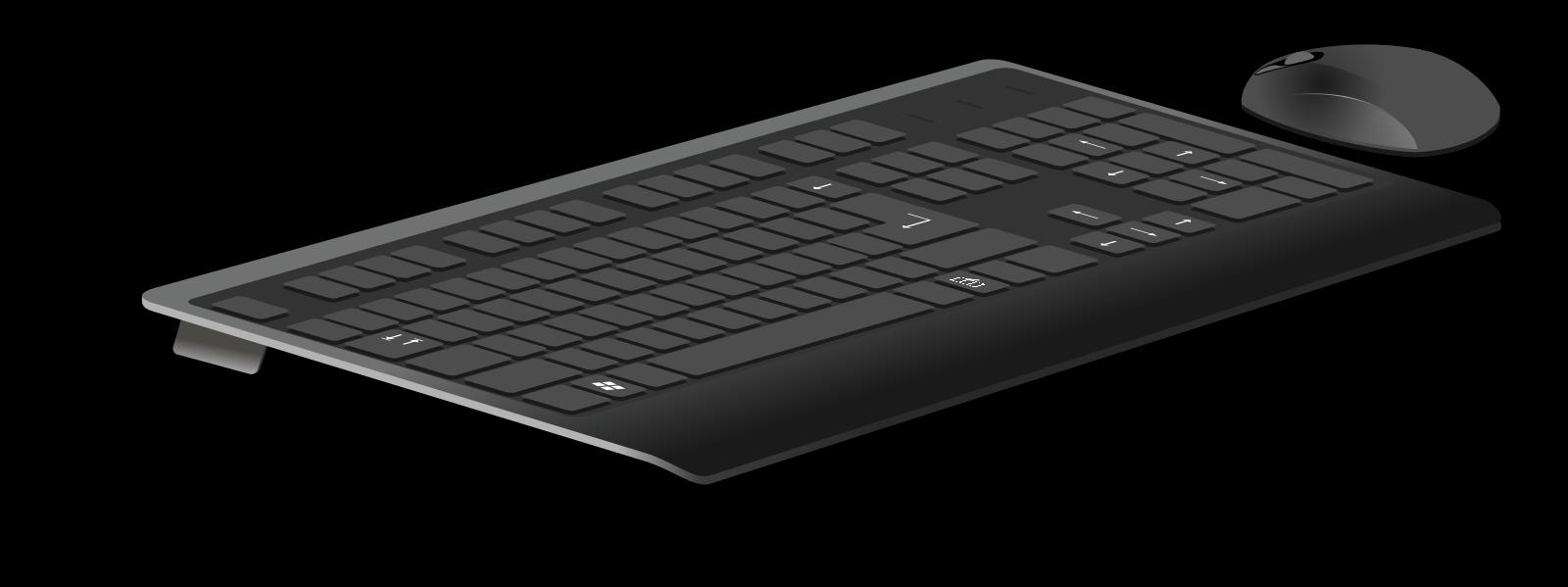 Keyboard Button SVG Clip arts