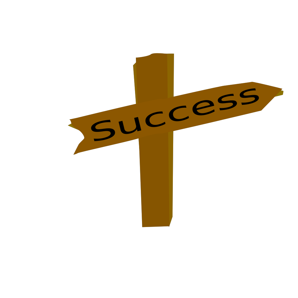 Success SVG Clip arts