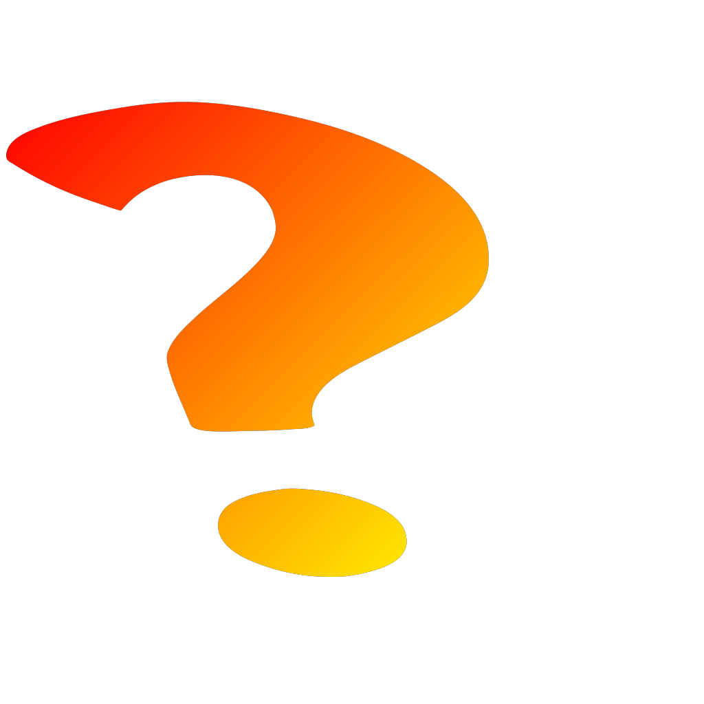 Question Marks Icon SVG Clip arts