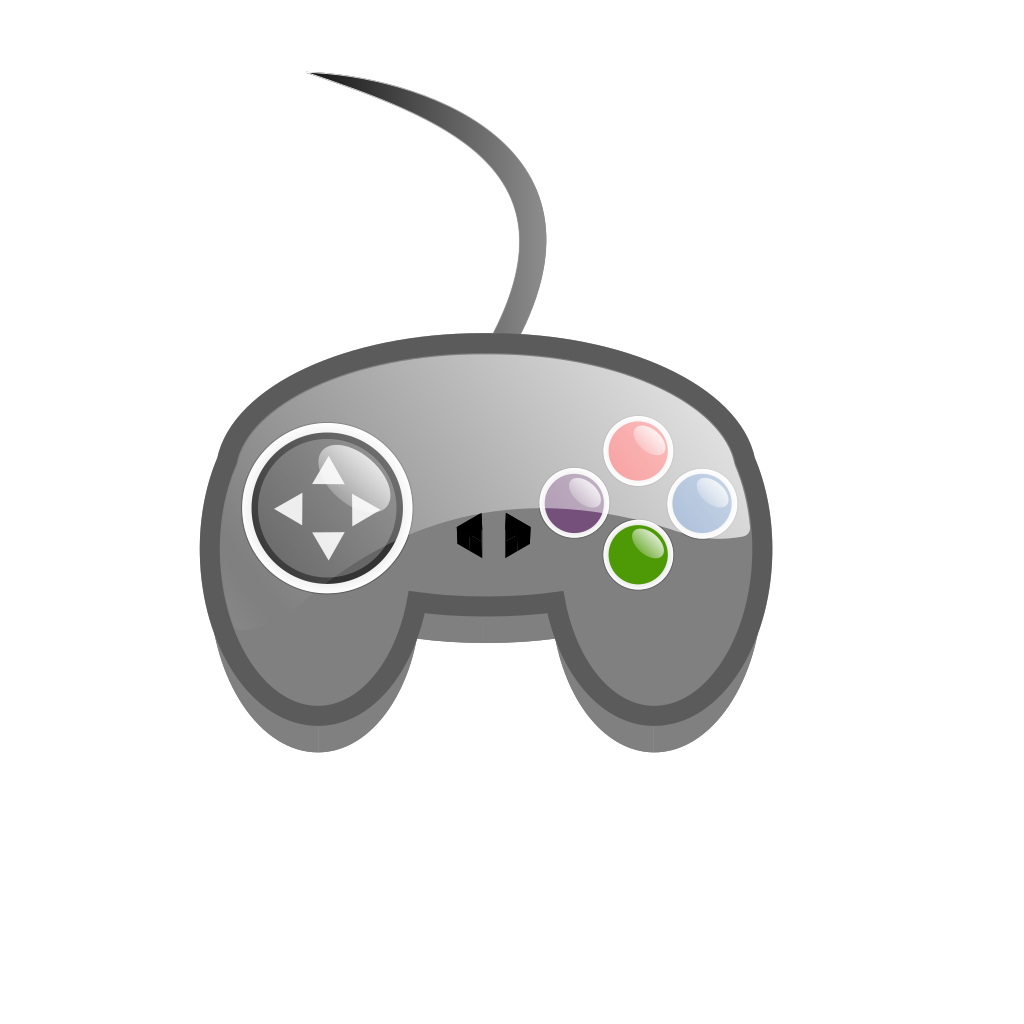 Game Controller Outline SVG Clip arts