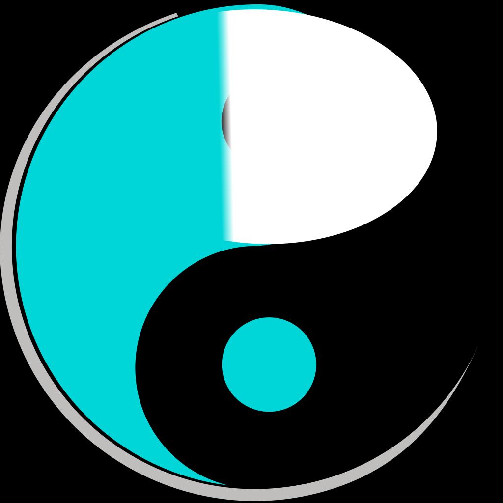 Yin Yang 6 SVG Clip arts