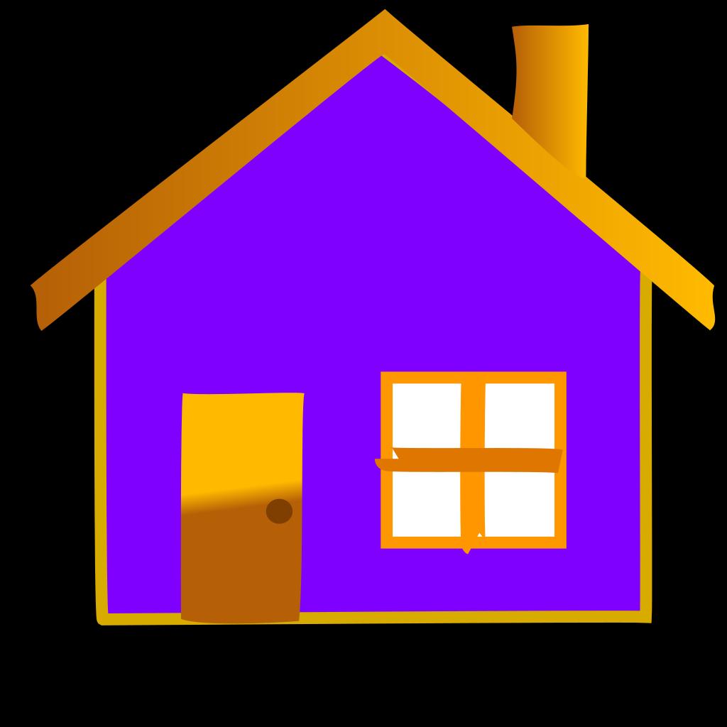 Home Icon 3 SVG Clip arts