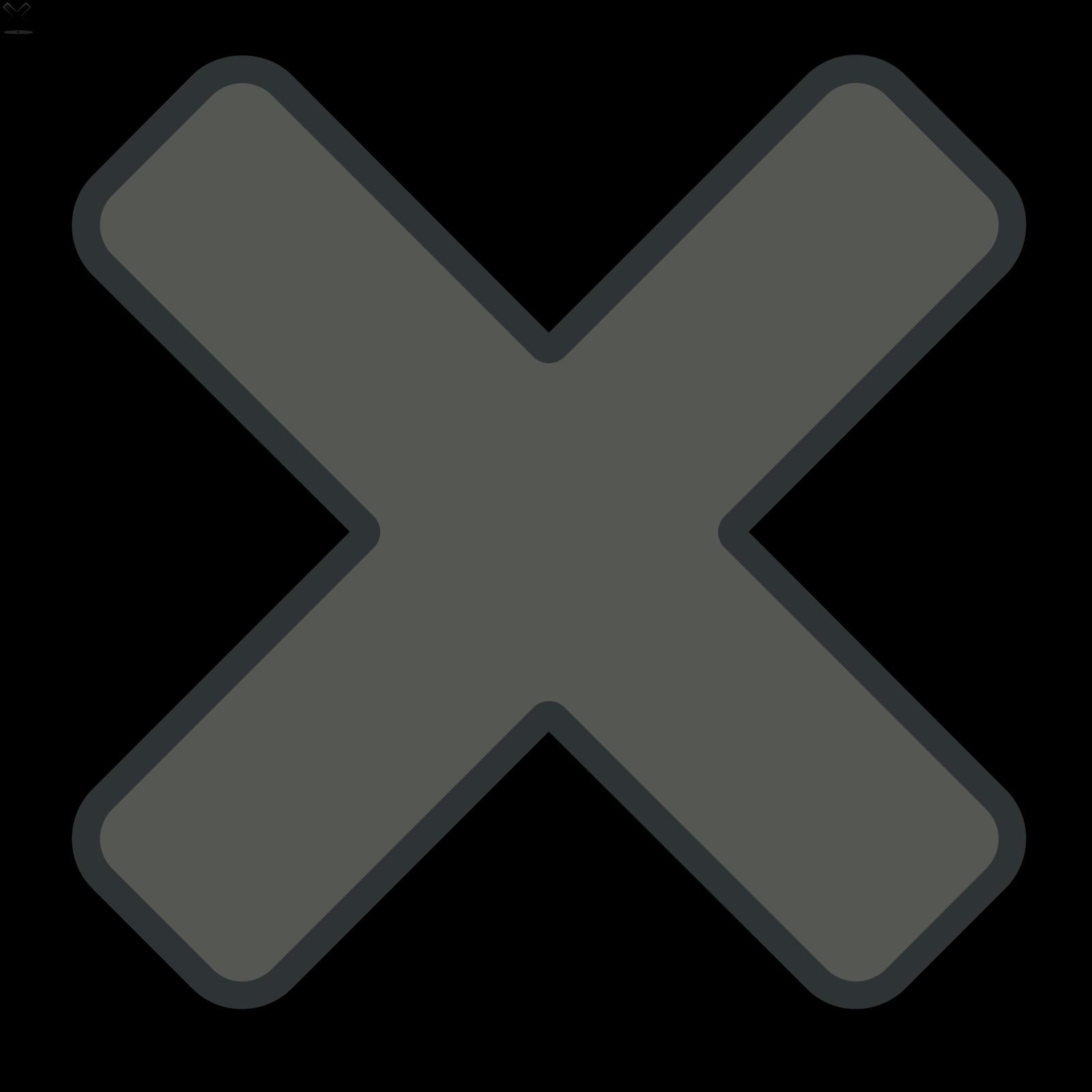 Close SVG Clip arts