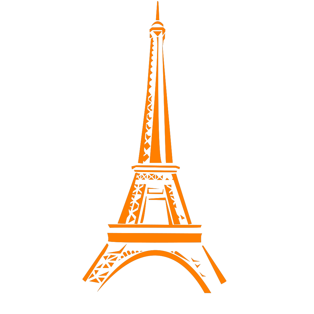 Eiffel Tower SVG Clip arts