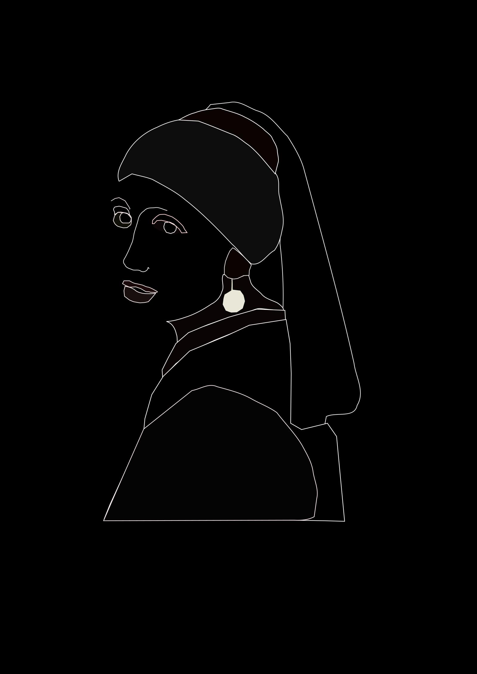 Woman Police SVG Clip arts