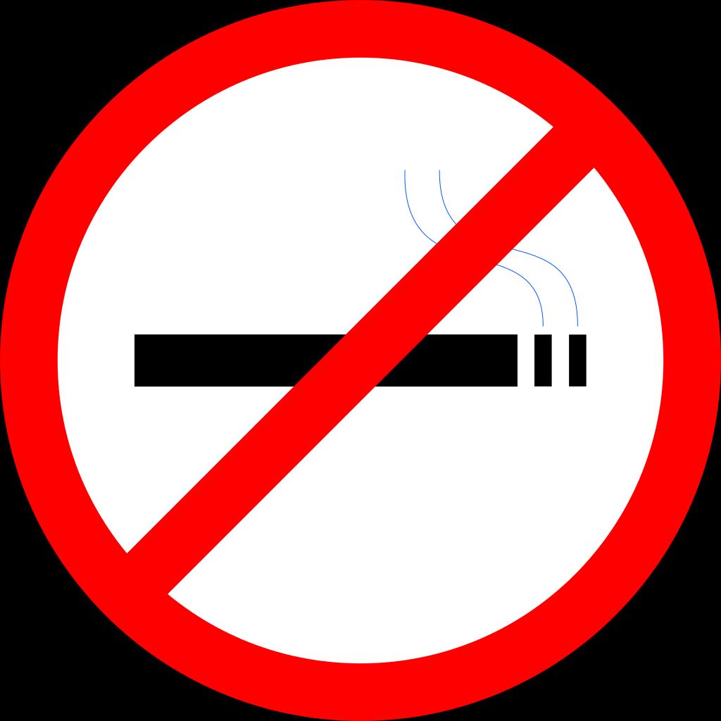 No Smoking SVG Clip arts