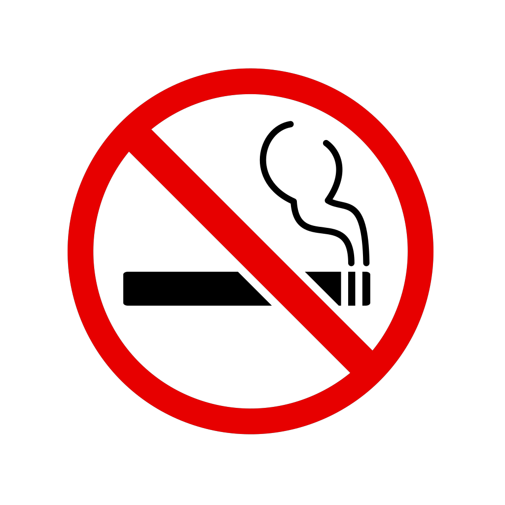 No Smoking Sign SVG Clip arts