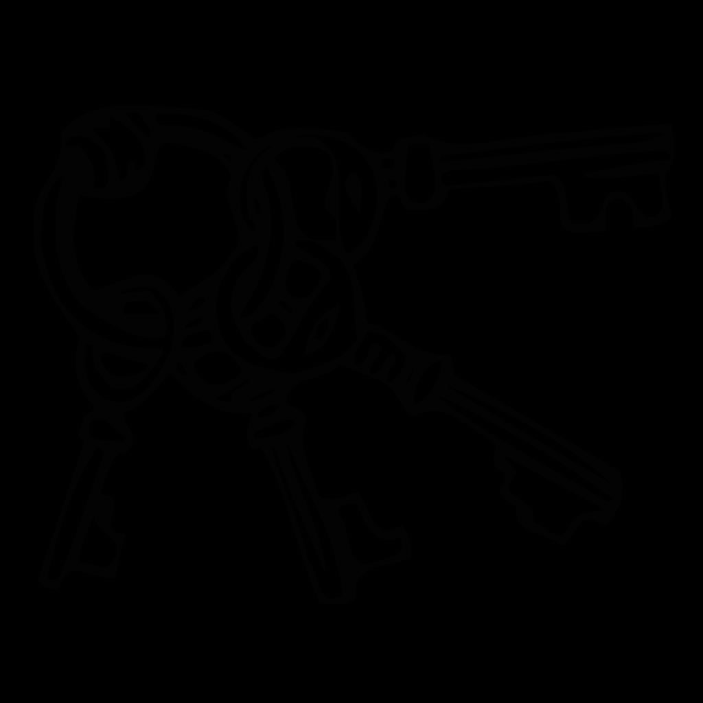 Keyring Key Ring SVG Clip arts
