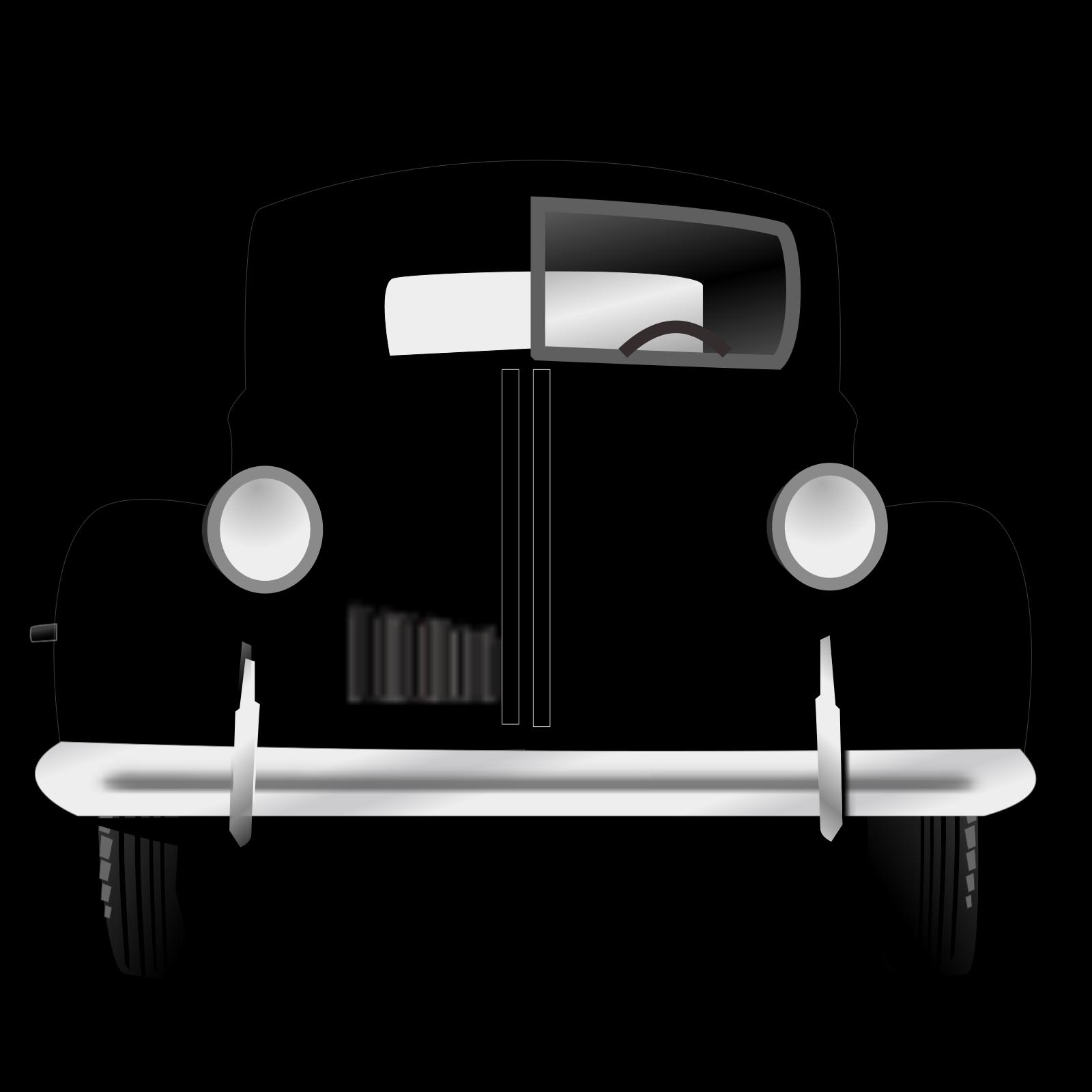 Old Car SVG Clip arts