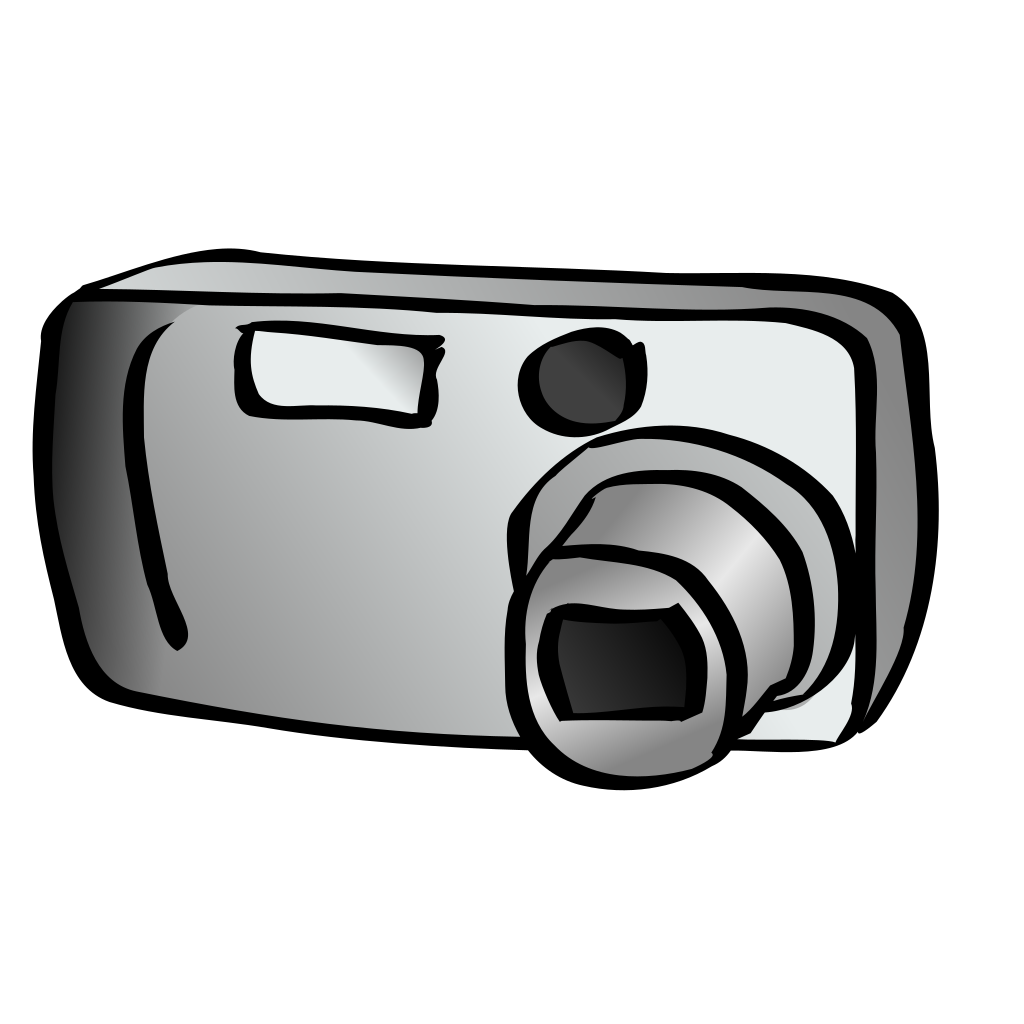 Digital Camera SVG Clip arts