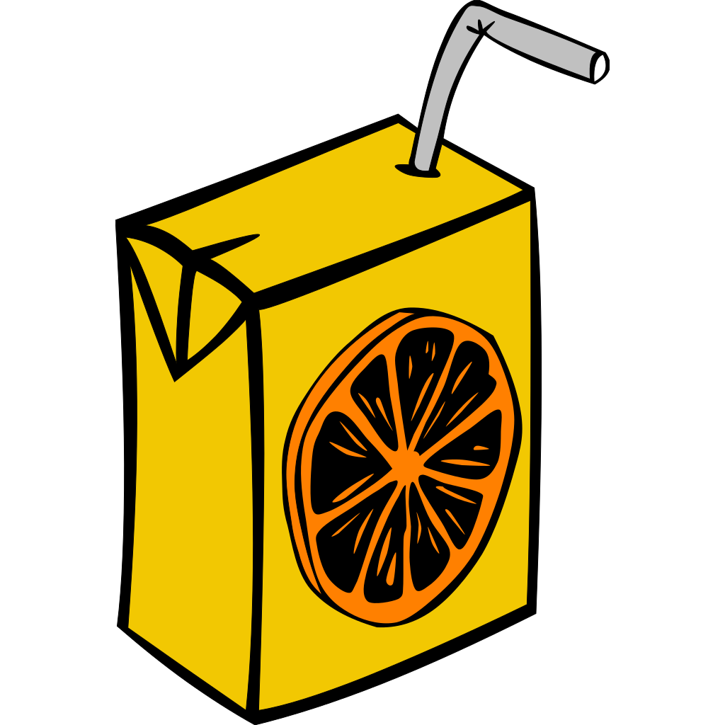 Orange Juice Box PNG, SVG Clip art for Web - Download Clip ...