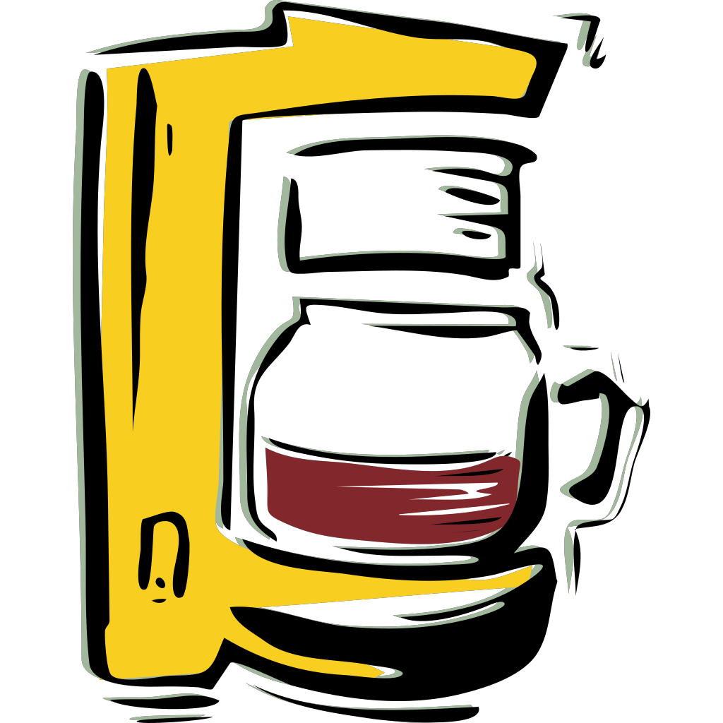 Coffee Machine SVG Clip arts