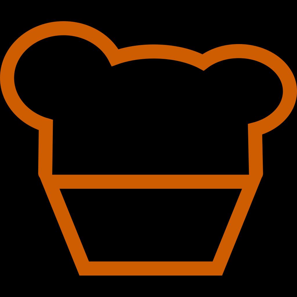 Generic Muffin SVG Clip arts