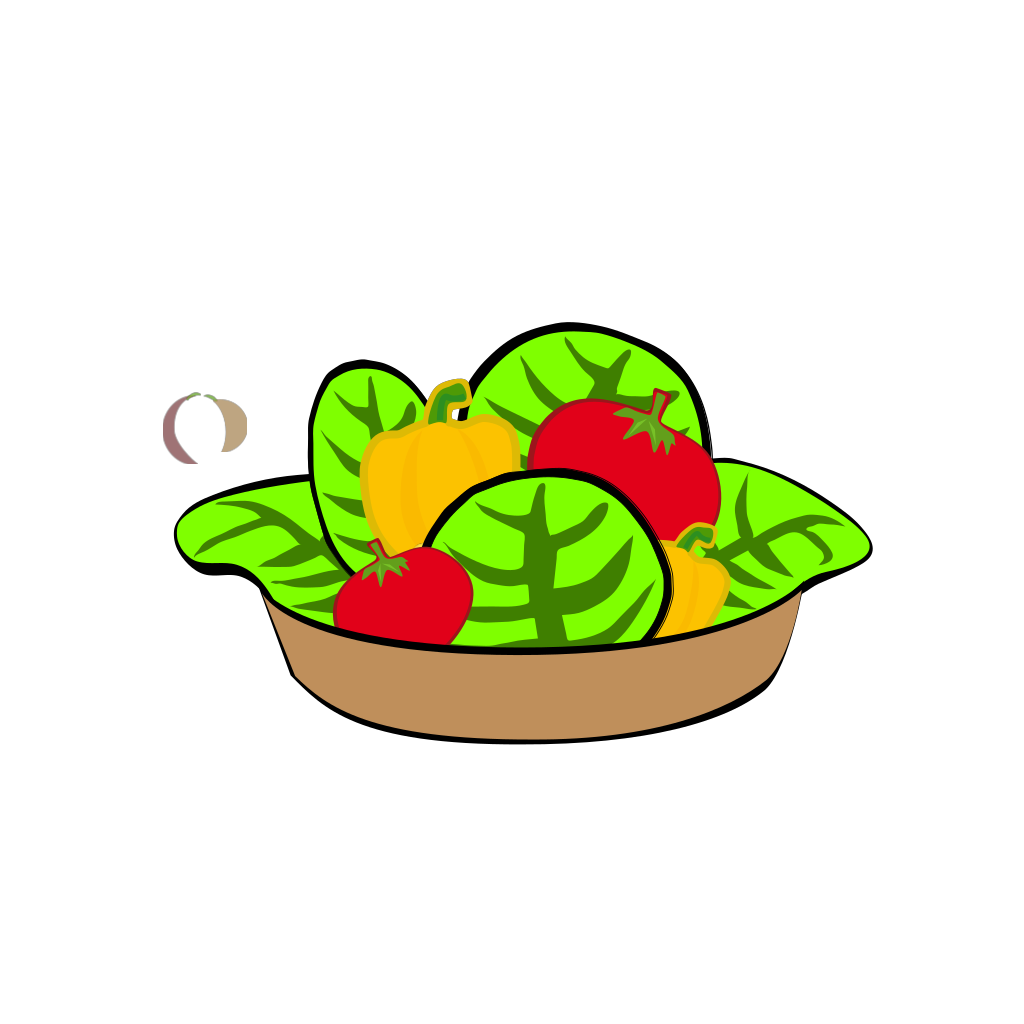 Salad SVG Clip arts