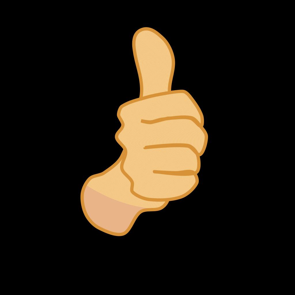 Thumbs Up 3 SVG Clip arts