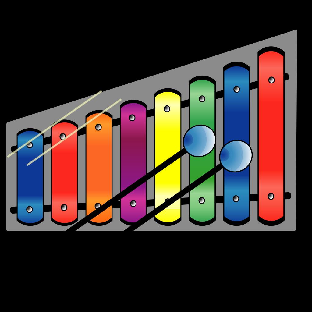 Xylophone 2 SVG Clip arts