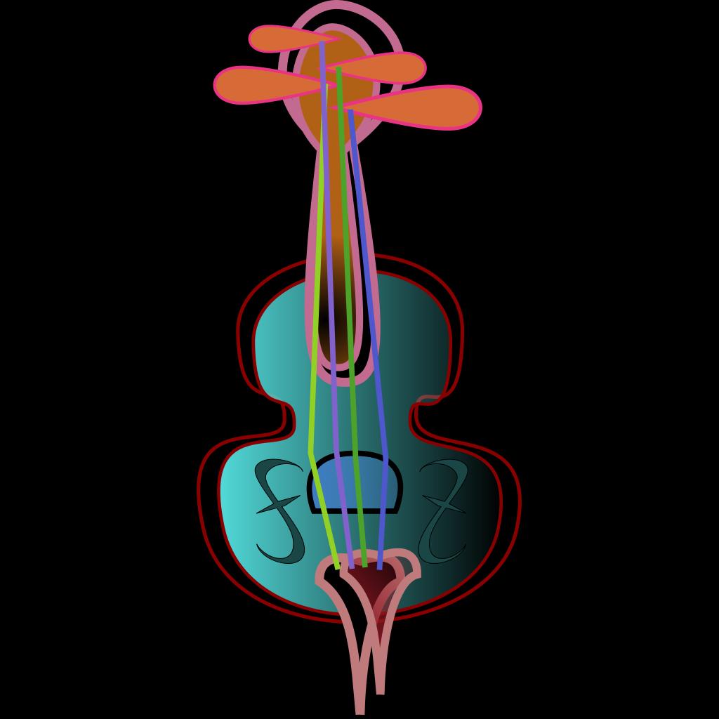 Violin SVG Clip arts