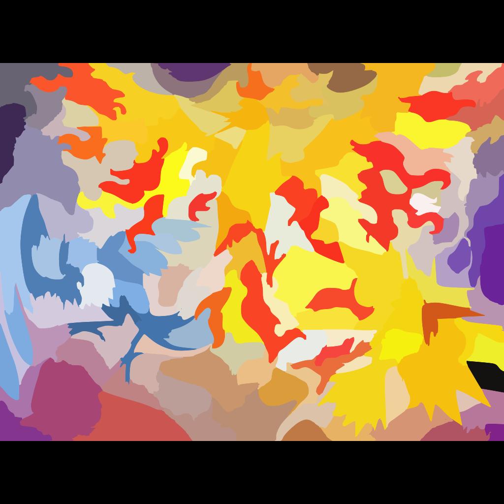 Legendary Birds Legendary Pokemon SVG Clip arts